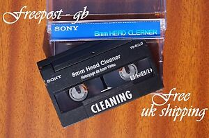 Excellent-SONY-V8-6CLD-Video-8-8mm-Hi8-and-Digital8-Cleaning-Tape-Cassette