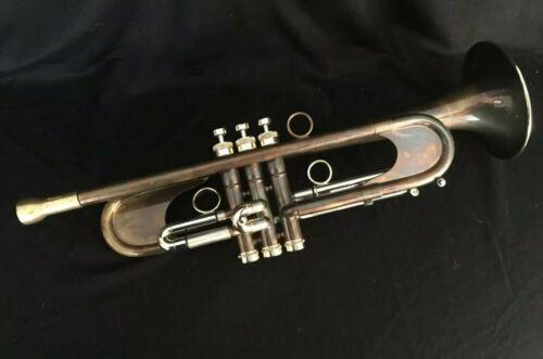 Taylor Custom Chicago Model Trumpet with Verdigris Finish