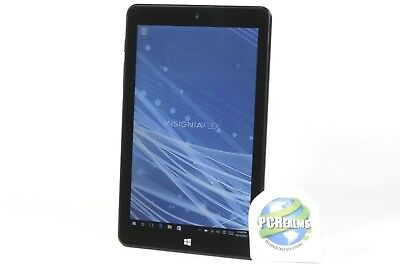Insignia Flex 8in Tablet NS-P08W7100 32GB, Windows 10, Wi-Fi, Black - B Grade