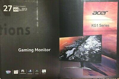 "Acer - KG271U - 27"" LCD 16:9 2560 x 1440 WQHD 1ms Gaming Monitor"