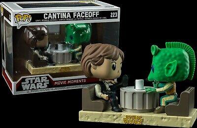 Funko Pop Cantina Faceoff Starwars Movie Moment Walmart Exclusive 223 hans solo