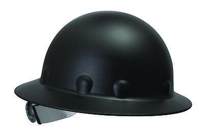 Fibre-metal Roughneck Full Brim Hard Hat With 8 Point Ratchet Suspension Black