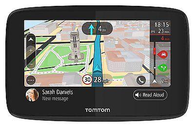TomTom GO 520 with WiFi - Lifetime World Maps, Traffic, Handsfree NEW UK STOCK