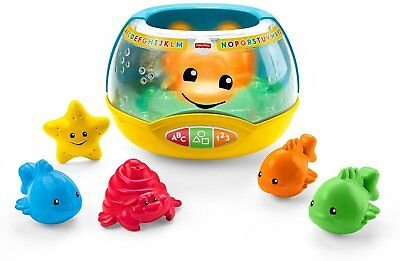 Magical Lights Fish Bowl Developmental Baby Toy Fisher Price Laugh Learn Teach ()