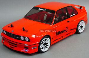 RC Brushless BMW E30 M3 Race Car  -Lipo - Ready To Run