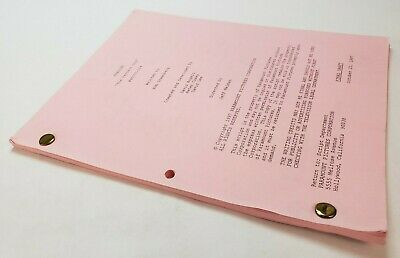 FRASIER / Rob Greenberg 1997 TV Series Script, Kelsey Grammer