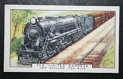 The Limited Express  Auckland - Wellington  New Zealand   Vintage Card