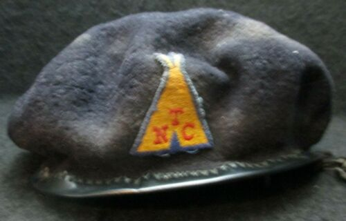 Royal Rangers Very Old Beret w Teepee patch NTC National Training Camp Rare