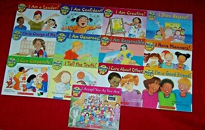Teachers Homeschool 13 Books The Best Me I Can Be Early Readers Ages