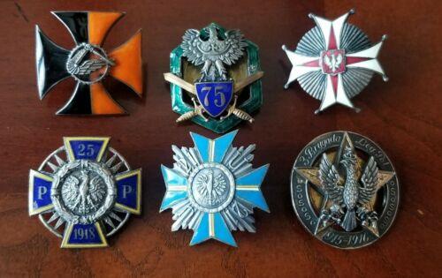 Poland Polish set of Badges WWII Military Medal Order