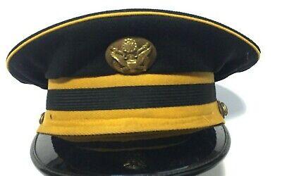 Vintage US Army Officer's Dress Cap Size 7 Ostwald eagle emblem, used for sale  Richmond