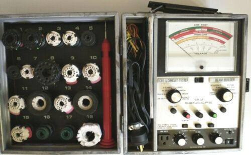 Sencore CR31 Super Mack CRT Tester & Beam Builder- With Manual/ALL Parts