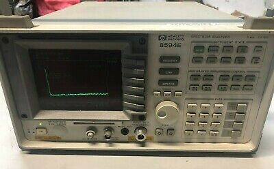 Hp Agilent Keysight 8594e Spectrum Analyzer 9khz To 2.9 Ghz