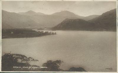 Real photo Loch lomond ardlui 1923 valentine