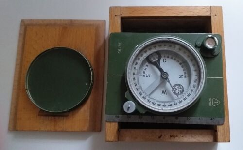 Vintage German  Geological Compass