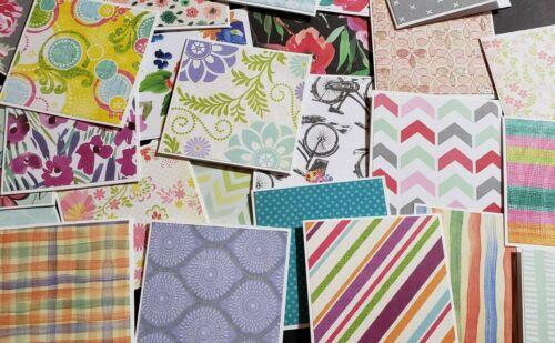 Lunch Box Notes - 25 Tiny Note Cards - Assorted 2x2 Mini Car