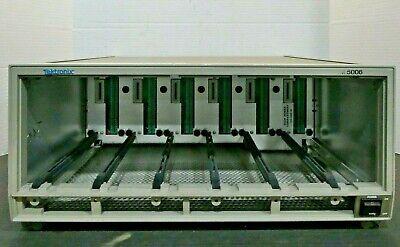 Tektronix Tm5006 6 Bay Benchtop Power Supply Mainframe Tested Working