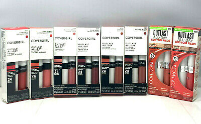 Covergirl Outlast All-Day Lip Color with Topcoat (.06oz/.07oz.) New; You Pick! Cover Girl Outlast All Day Lip Color