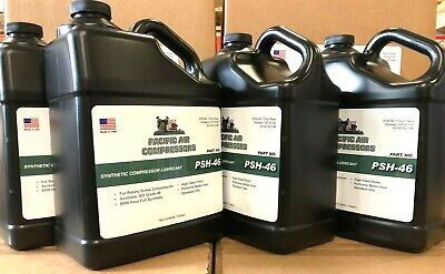 4 Gallons Synthetic Rotary Screw Air Compressor Oil Lubricant 8000 Hour