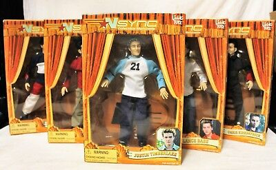 Living Toys 2000 NSYNC Collectible Marionette Set of All 5