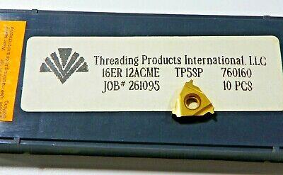 9 Pieces Tpi 16er 12acme Tp5sp Carbide Inserts  F457