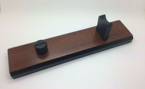 Fixed Blade Knife Holder Wood Display Stand (NEW)