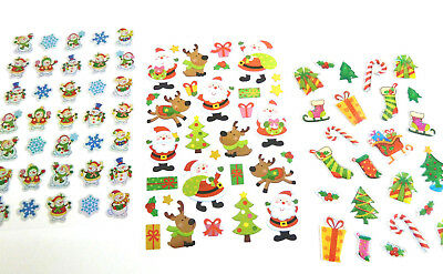 Fun Christmas Xmas Stickers for Kids - for Craft, Card-making & Decoration ()