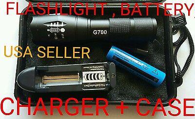 Best Led Flashlights (WORLD BEST FLASHLIGHT. G700 Military Grade Tactical Flashlight LED x800 Lumens)