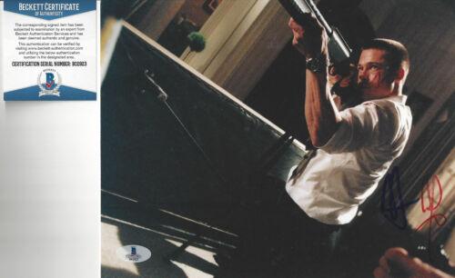 Actor Brad Pitt autographed 8x10 color photo Beckett Certified RARE