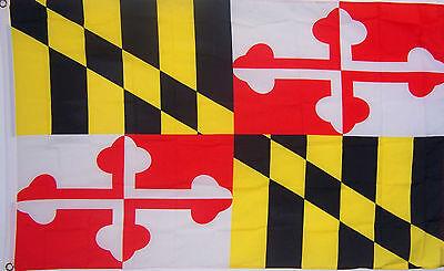 MARYLAND STATE FLAG NEW 3 x5 ft au