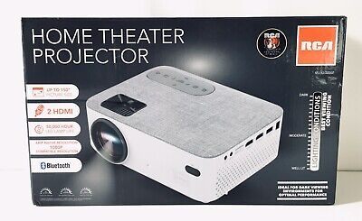 RCA 480p Home Theater Projector 1080p RPJ143-50DISP. -D109*