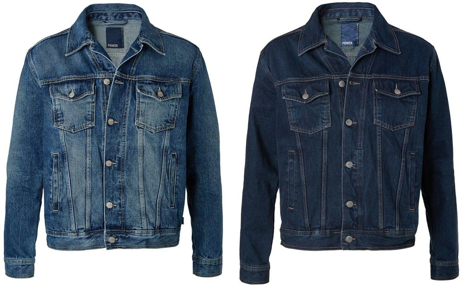 Pioneer Herren Jeans Jacket Jeansjacke Denim VK:  € 79,95