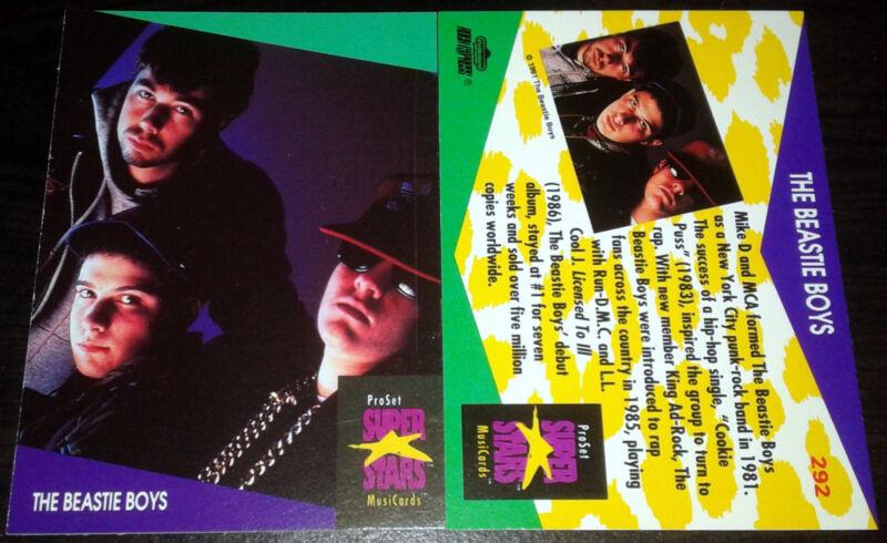 BEASTIE BOYS RARE Music Card Adam MCA Yauch Nathanial Hornblower 2012 RIP