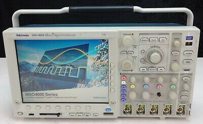 As-is Tektronix Mso4054 Mixed Signal Oscilloscope 500 Mhz