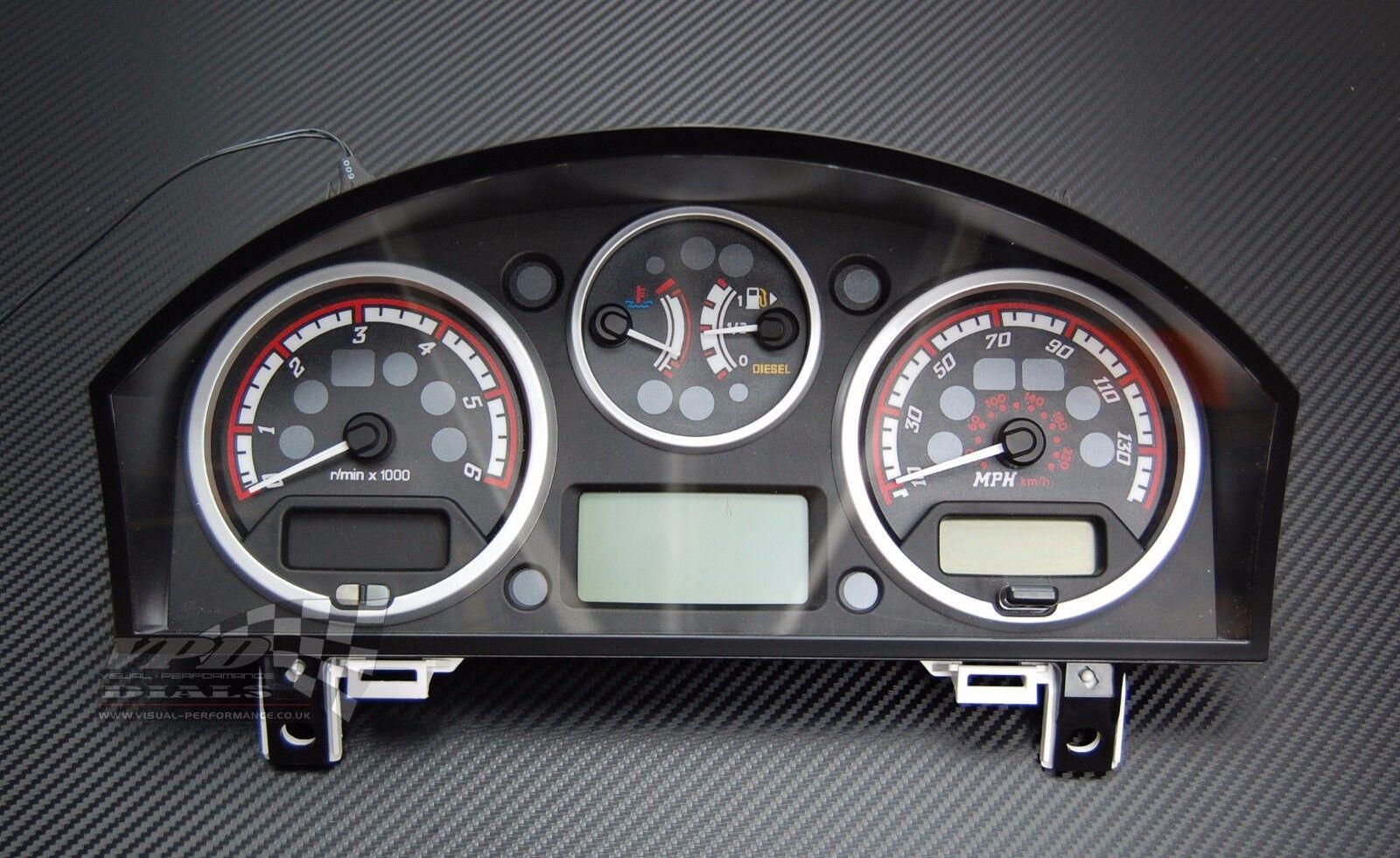 Range rover sport diesel interior custom dash speedo lighting upgrade dial kit for Range rover sport interior lighting