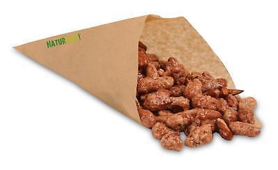 1.000 Spitztüten für 125g Jahrmarkt Kiosk Papiertüten Fruchtgummi Mandel Tüten