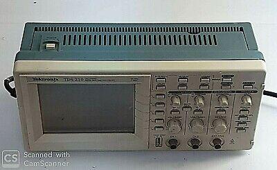 Tektronix Tds 210 60mhz Digital Oscilloscope 2 Channel