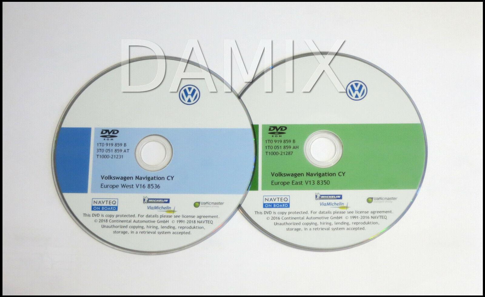 ORIGINAL VW Navi Update RNS510 RNS810 Skoda Columbus