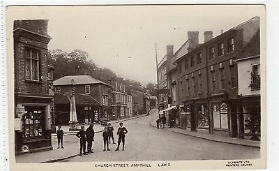 CHURCH STREET, AMPTHILL: Bedfordshire postcard (C6836).