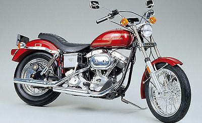 TAMIYA Motorrad Plastikbausatz 1:6 HARLEY-DAVIDSON FXE1200 SUPER GLIDE 16039 NEU