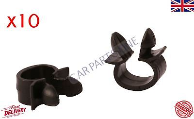 10x Wiring Cable Loom Harness Holder Clips for Renault VW Alfa Romeo 7703079070