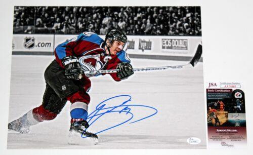 JOE SAKIC SIGNED 11x14 PHOTO NHL HOF COLORADO AVALANCHE AUTOGRAPHED +JSA COA