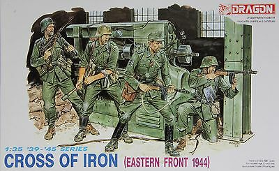 Dragon 6006: 1/35 German Infantry Cross of Iron Eastern Front '44 (4 Figures)