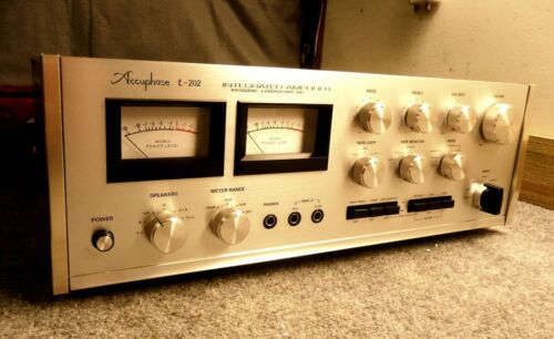 Accuphase E-202 Audiophile Integrated Amplifier, Near Mint