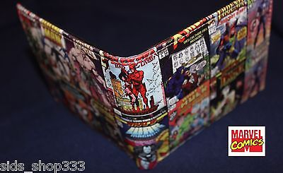 What If comic covers ! bi fold wallet deadpool Marvel Comics US Seller Stan lee