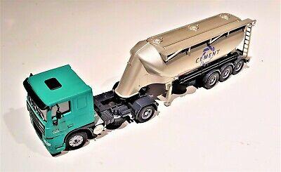 Joal 333 DAF Spitzer Bulk Cement Truck European Version 1/50 O Scale Die-cast LN