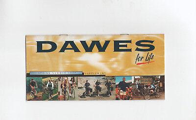 DAWES CYCLE BROCHURE 1997 SUPPLEMENT - DISCOVERY 301 / CHILLIWACK / KOKOMO