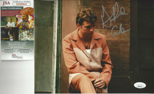 Godfather Gianni Russo (Carlo) autographed photo JSA Certified plus bonus