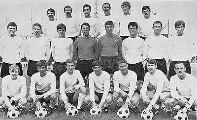 LUTON TOWN FOOTBALL TEAM PHOTO 1969-70 SEASON