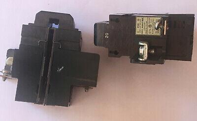 Pushmatic Bulldog 20a 120vac 2 Pole Breaker - 30 Day Return See Description